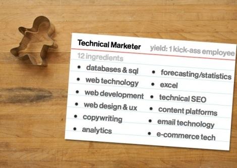 Technical marketer
